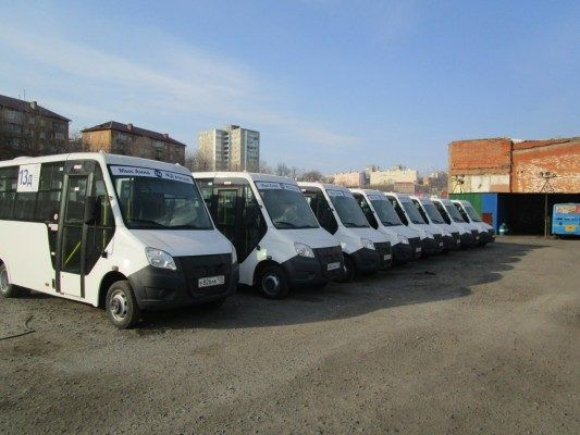 Во Владивостоке в тестовом режиме на маршруте №13 пассажиров будут возить автобусы «Газель Next»