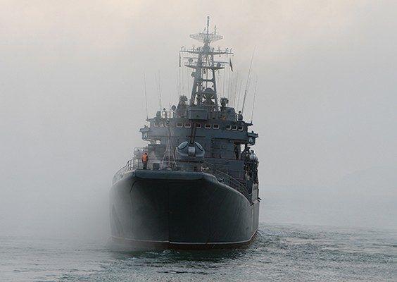 Большие десантные корабли ТОФ выполнили погрузку-выгрузку техники и личного состава на необорудованное побережье