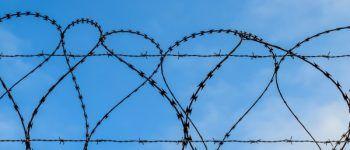 Тюрьма, колония, колючая проволока, забор, убийство