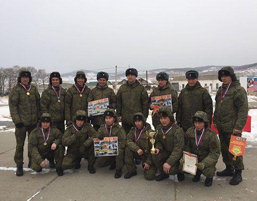 В Приморье определили лучших разведчиков Восточного военного округа