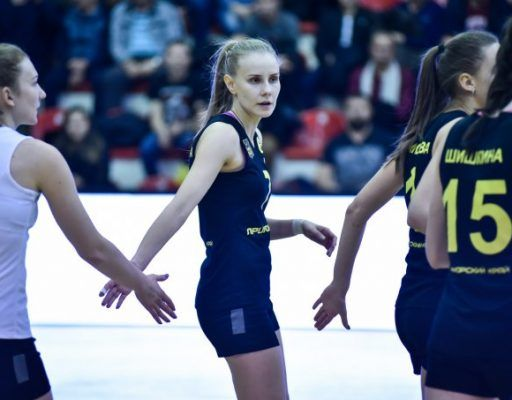 Волейболистки «Приморочки» выиграли у «Олимпа» в кубев