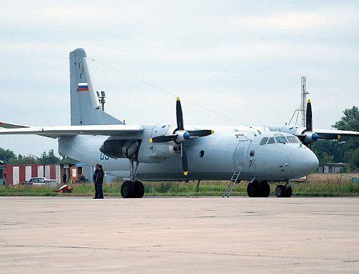 Самолёт Ан-26 разбился в Сирии при сильном ветре — источник