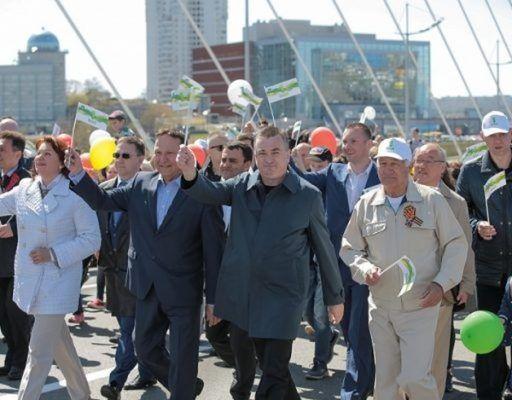 По новому маршруту пройдёт первомайское шествие во Владивостоке