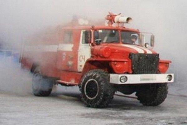 Пожарная машина. Фото: пресс-служба Главного управления МЧС России по Приморскому краю
