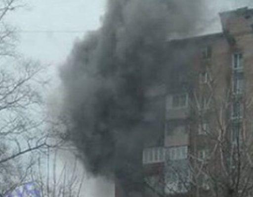 Во Владивостоке полыхала квартира