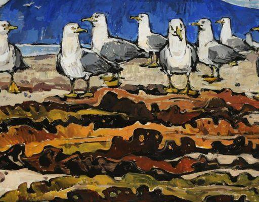 Во Владивостоке открылась художественная выставка «Заповедное море: береговая черта»