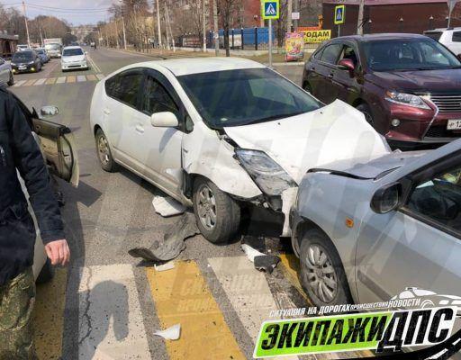 Жёсткое ДТП произошло на пешеходном переходе в Приморье