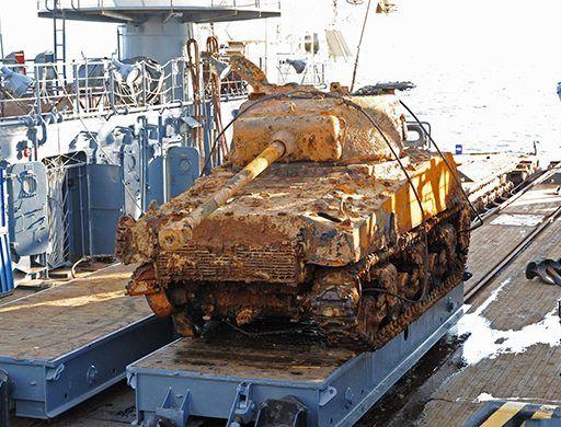 Двигатель от КрАЗа и ходовую часть от БМП поставят на восстанавливаемый в Приморье американский танк «Шерман»