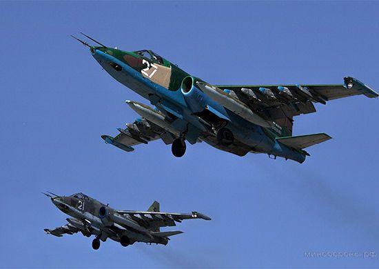 В Приморье самолёты-штурмовики уничтожили условных террористов