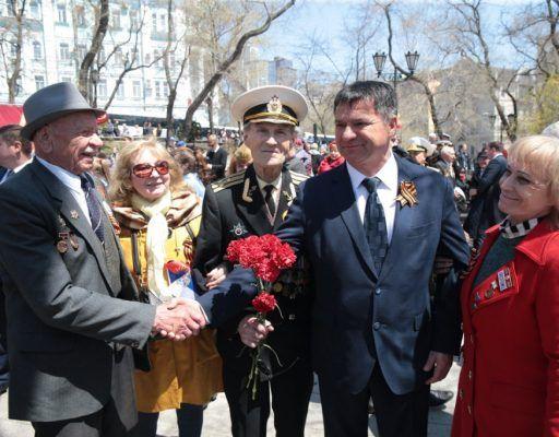 Глава Приморья рассказал о том, где во время Великой Отечественной войны служил его дед