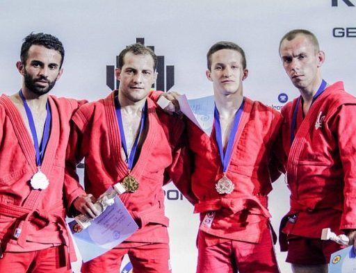Приморские самбисты выиграли одну «бронзу» на чемпионате Европы и три – на первенстве России