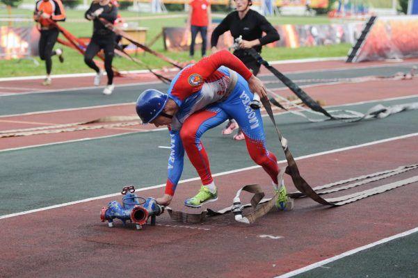 Краевые соревнования по пожарно-спасательному спорту прошли во Владивостоке