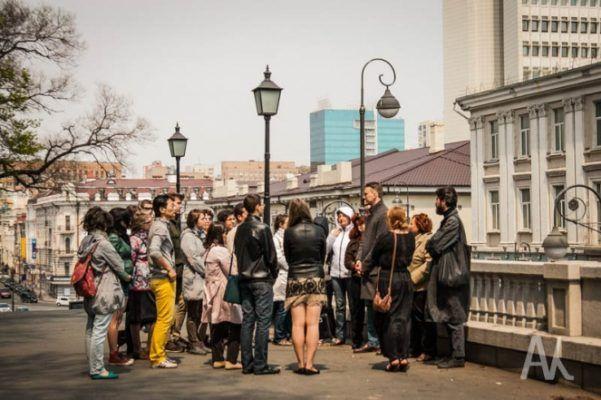 В «Ночь музеев» во Владивостоке состоялись премьеры двух пешеходных экскурсий
