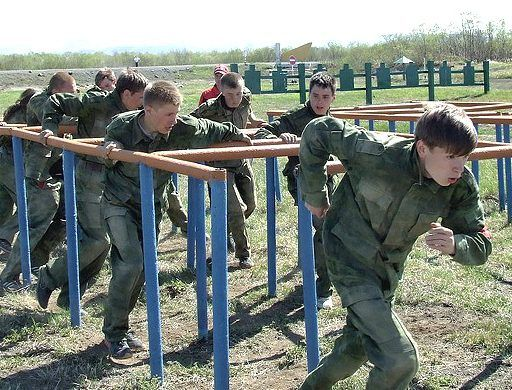 «Зарница» в Уссурийске собрала 35 команд