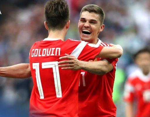 Приморцы не поверили, что сборная России выйдет из группы на ЧМ-2018