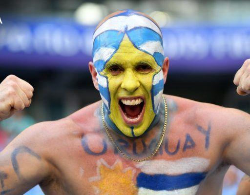 Матч Уругвай — Россия завершился со счётом 3:0