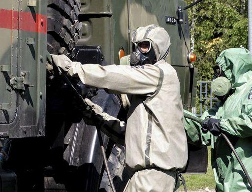 Химическую атаку условного противника отразят в Приморье