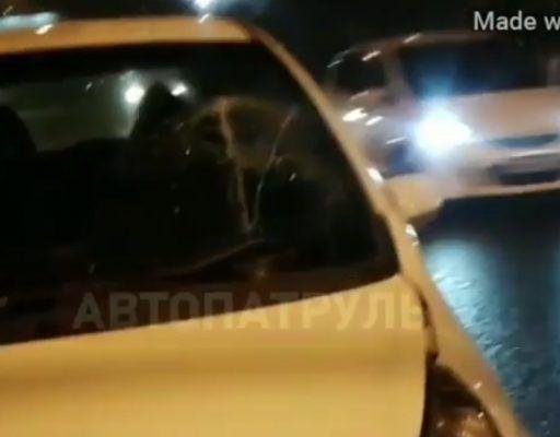Во Владивостоке мужчина попал под колёса авто и сбежал с места ДТП
