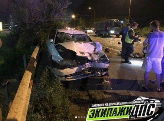 Подросток на мопеде погиб в жутком лобовом ДТП во Владивостоке