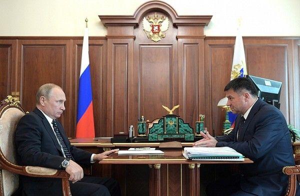 Глава Приморья предложил Путину поддержать судоверфь «Звезда» дополнительным законом