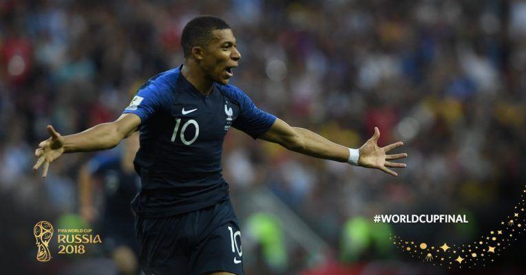 Матч Франция — Хорватия завершился со счётом 4:2