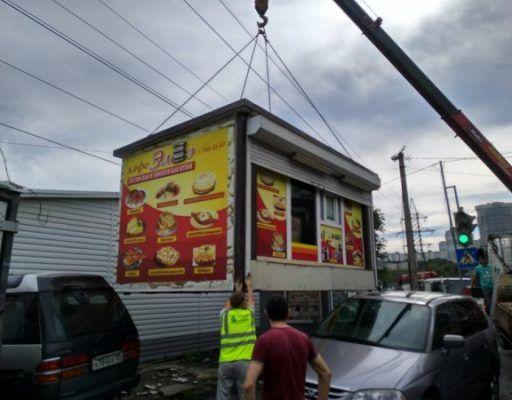 Плату за демонтаж незаконных объектов кратно увеличили во Владивостоке