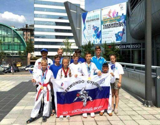 Юные тхэквондисты из Находки завоевали шесть медалей на международном турнире олимпийского класса