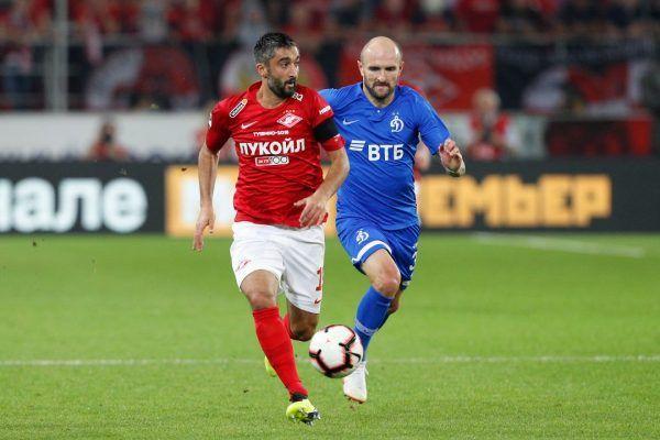 Матч «Спартак» — «Динамо» завершился со счётом 2:1