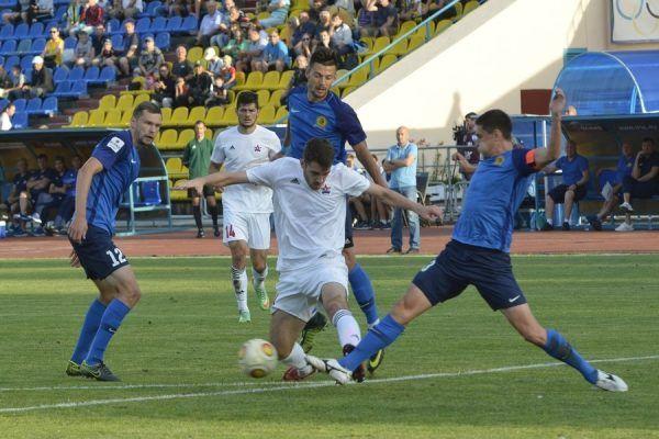 Матч «СКА-Хабаровск» — «Луч» завершился со счётом 0:0