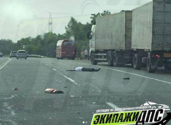 Трагическое ДТП в Приморье: автобус сбил мужчину