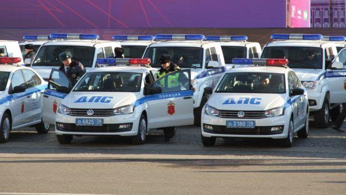 Патрульный автомобиль ДПС попал в ДТП в Приморье