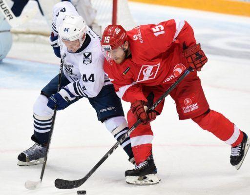 «Адмирал» проиграл «Спартаку» в матче КХЛ