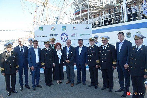 Этап «СКФ Дальневосточной регаты учебных парусников-2018» стартовал во Владивостоке
