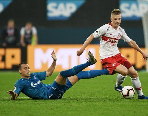 Матч «Зенит» — «Спартак» завершился со счётом 0:0