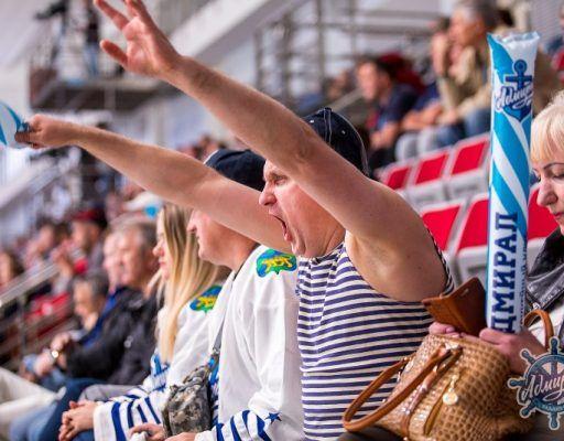 Хоккеисты «Адмирала» крупно проиграли «Торпедо»