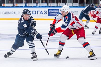 Хоккеисты «Адмирала» в первом домашнем матче сезона проиграли ЦСКА