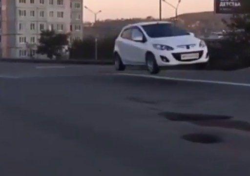 «Джейсон Стэйтем едет на «Меридианы Тихого»: автолихач удивил Владивосток