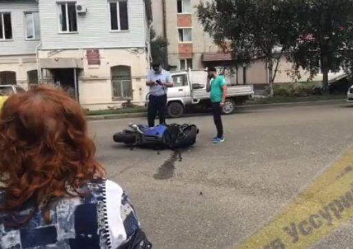 В страшном ДТП в Приморье погиб мотоциклист