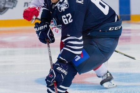 Хоккеисты «Адмирала» проиграли рижанам