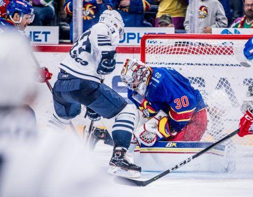 Хоккеисты «Адмирала» крупно уступили в Хельсинки