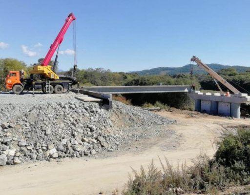 Мост через реку Литовка достроят в 2018 году — Примавтодор