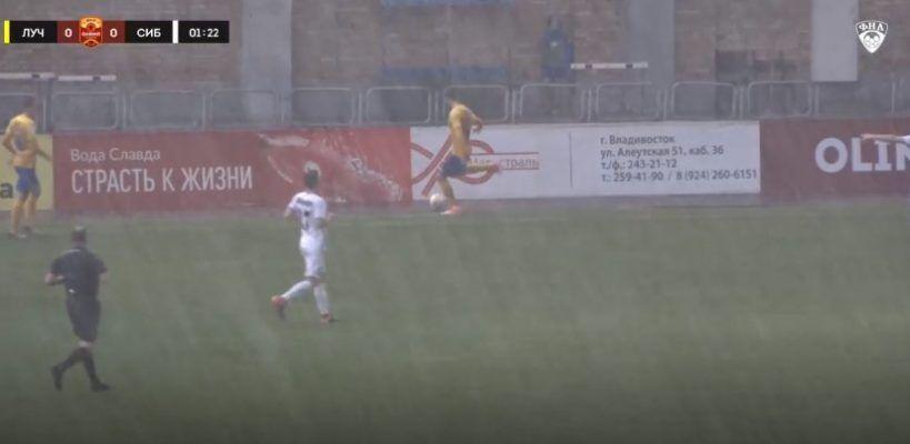 Футболисты «Луча» прервали серию из семи матчей без побед