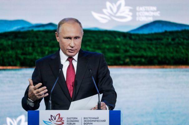 Путин предложил превратить остров Русский в центр цифрового развития