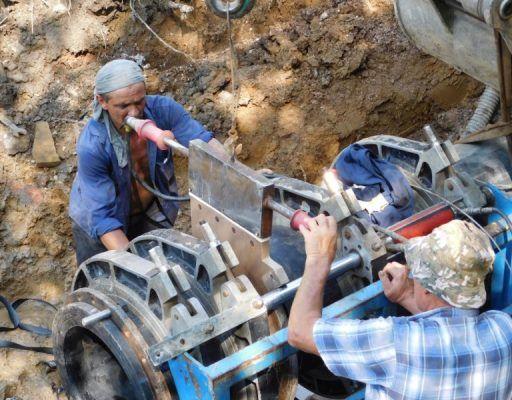 В «Примтеплоэнерго» рассказали, как идёт ремонт объектов водоснабжения и водоотведения