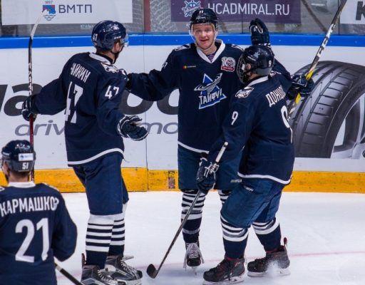 Уссурийский «Тайфун» победил «Русских витязей» в матче МХЛ