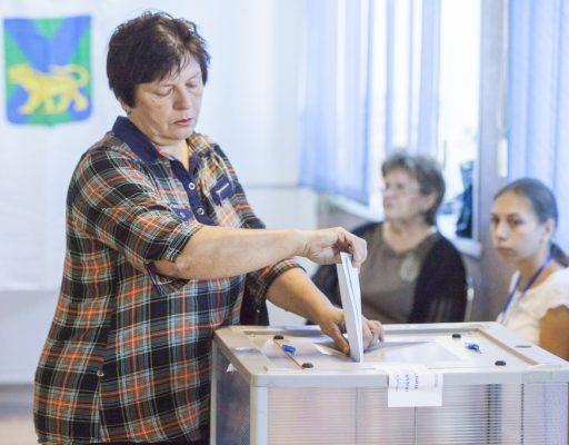 Второй тур выборов губернатора Приморья: явка на 12:00 составила 13,54%