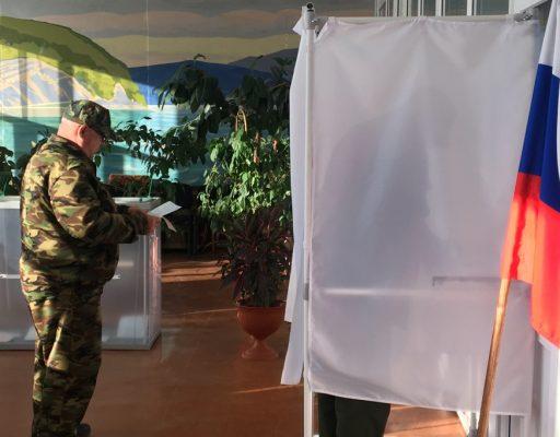 Досрочные выборы губернатора Приморья: явка на 18:00 подросла до 26,55%