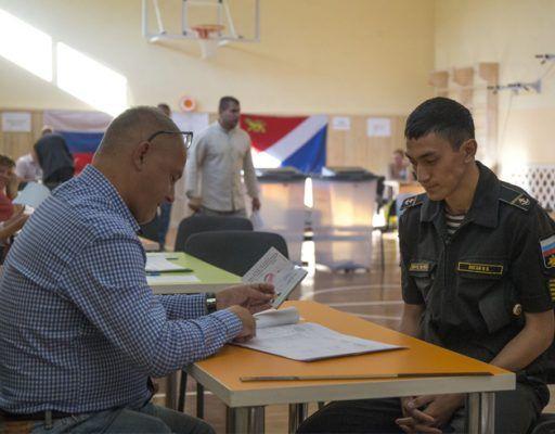 Второй тур выборов губернатора Приморья: явка на 15:00 составила 23,23%