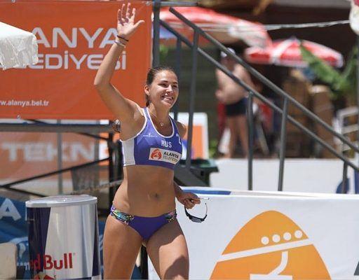 Серебро Кубка России по пляжному волейболу выиграла приморочка Дарья Рудых
