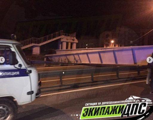 В МЧС прокомментировали обрушение виадука во Владивостоке